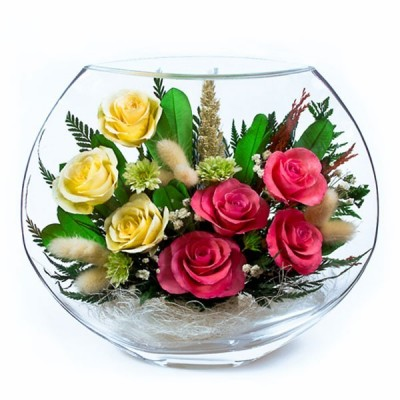 22_12 Цветы в стекле ~ вакуум*~