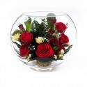 18_06 Цветы в стекле ~ вакуум*~