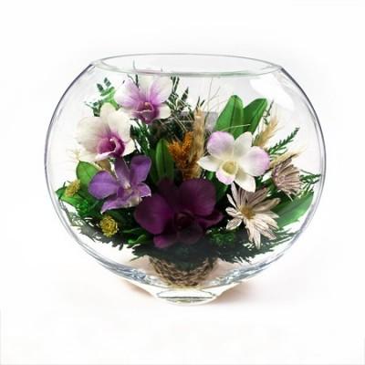 19_04 Цветы в стекле ~ вакуум*~