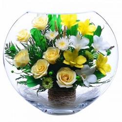 13_02 Цветы в стекле ~ вакуум*~