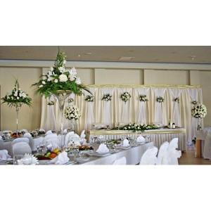 90_18 Свадебная композиция на стол для гостей.