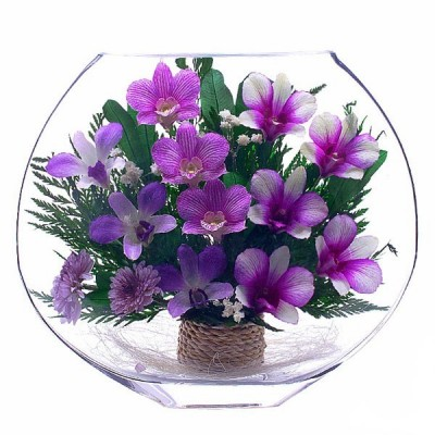 21_10 Цветы в стекле ~ вакуум*~