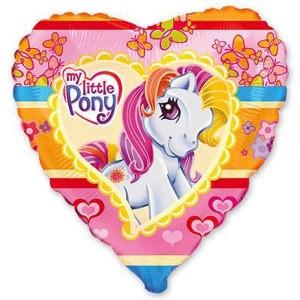 88_23 Шар сердце My Little Pony