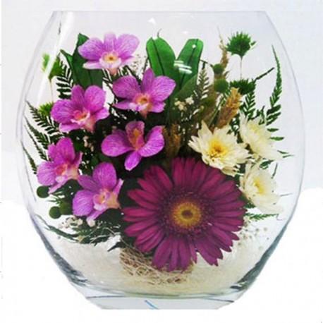 23_13 Цветы в стекле! ~ вакуум ~