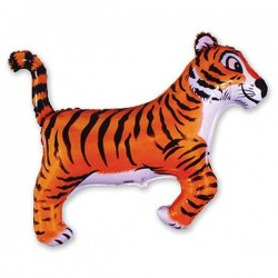 88_87 Шар фигура Тигр черные полоски