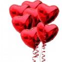 89_25 Букет шаров Сердца