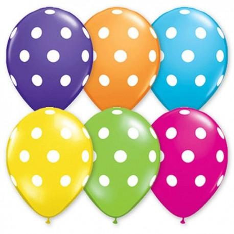 88_70 шарики Polka Dots Assorted
