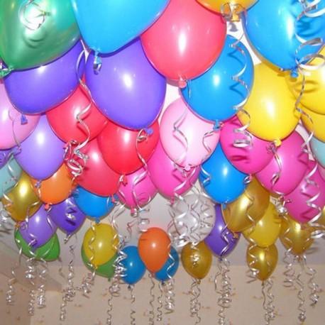 88_77 Украшение комнаты шарами