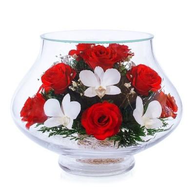 08_23 Цветы в стекле ~ вакуум*~