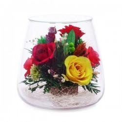 10_15 Цветы в стекле ~ вакуум*~