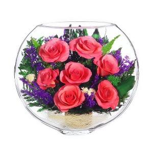 18_02 Цветы в стекле ~ вакуум*~