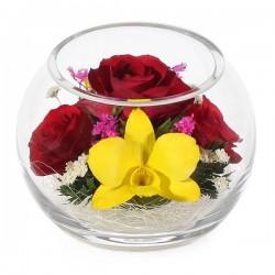 03_23 Цветы в стекле ~ вакуум*~