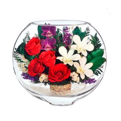 17_03 Цветы в стекле ~ вакуум*~