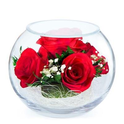 03_26 Цветы в стекле ~ вакуум*~