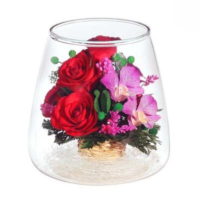 10_11 Цветы в стекле ~ вакуум*~