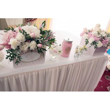 90_56 Свадебные композиции на стол молодоженов