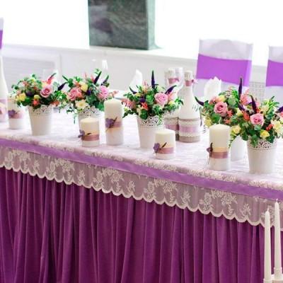 90_57 Свадебные композиции на стол молодоженов