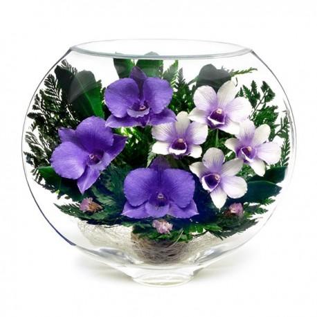 19_011 Цветы в стекле ~ вакуум*~