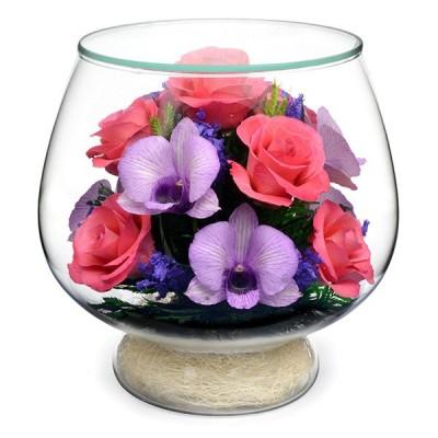 08_10 Цветы в стекле ~ вакуум*~