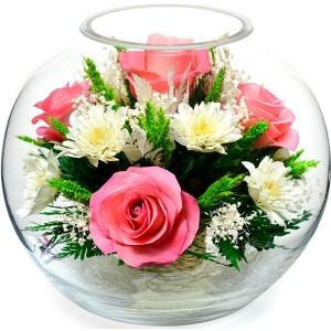 02_04 Цветы в стекле ~ вакуум*~