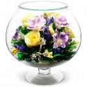 07_38 Цветы в стекле ~ вакуум*~