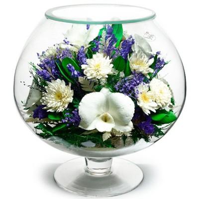 07_42 Цветы в стекле ~ вакуум*~