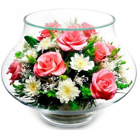 08_27 Цветы в стекле ~ вакуум*~