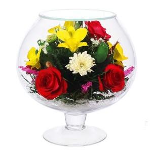 07_34 Цветы в стекле ~ вакуум*~