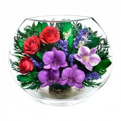 20_09 Цветы в стекле! ~ вакуум*~