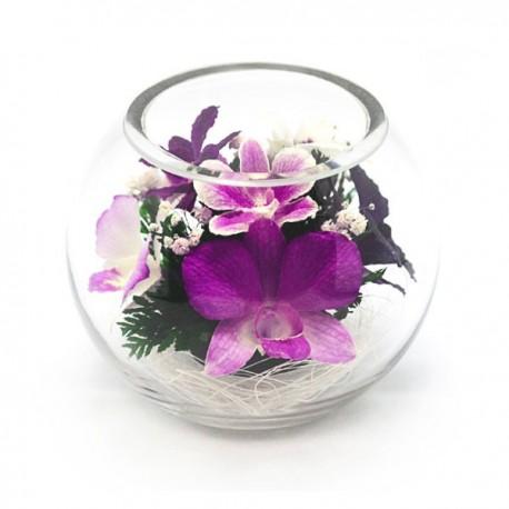 03_20 Цветы в стекле ~ вакуум*~