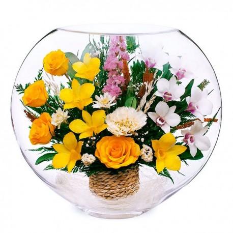 13_08 Цветы в стекле ~ вакуум*~