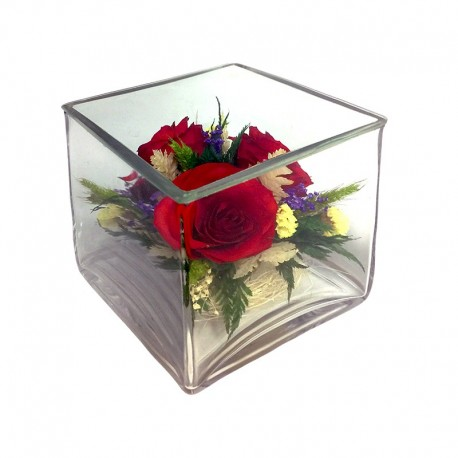 26_07 Цветы в стекле ~ вакуум*~