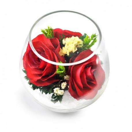 03_001 Цветы в стекле ~ вакуум*~