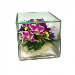 26_05 Цветы в стекле ~ вакуум*~