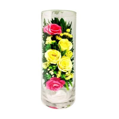 12_010 Цветы в стекле ~ вакуум*~