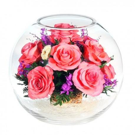 02_15 Цветы в стекле ~ вакуум*~