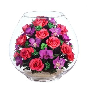 01_05 Цветы в стекле ~ вакуум*~