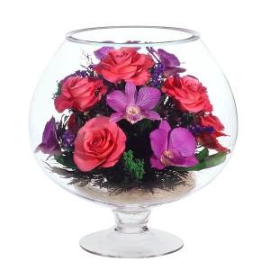 07_37 Цветы в стекле ~ вакуум*~
