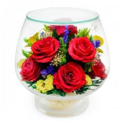 08_04 Цветы в стекле ~ вакуум*~