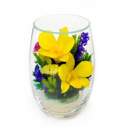 03_14 Цветы в стекле ~ вакуум*~