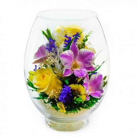 10_01 Цветы в стекле ~ вакуум*~