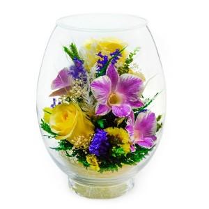 10_04 Цветы в стекле ~ вакуум*~