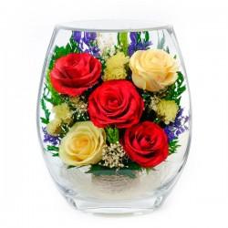 25_05 Цветы в стекле ~ вакуум*~