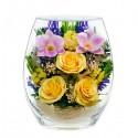 25_06 Цветы в стекле ~ вакуум*~