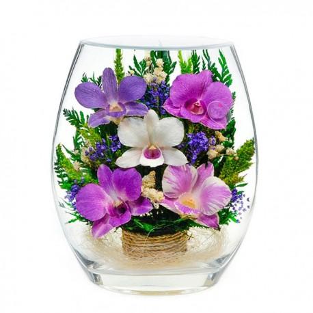 25_02 Цветы в стекле ~ вакуум*~