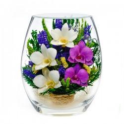 25_03 Цветы в стекле ~ вакуум*~