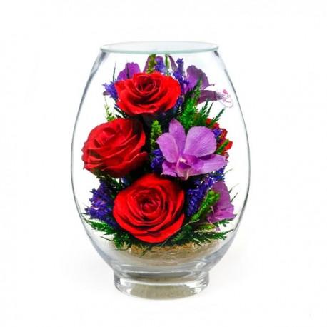 10_02 Цветы в стекле ~ вакуум*~