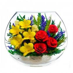 20_07 Цветы в стекле ~ вакуум*~