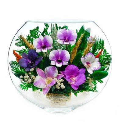 19_06 Цветы в стекле! ~ вакуум ~