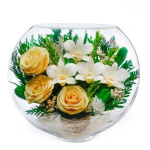 17_06 Цветы в стекле ~ вакуум*~